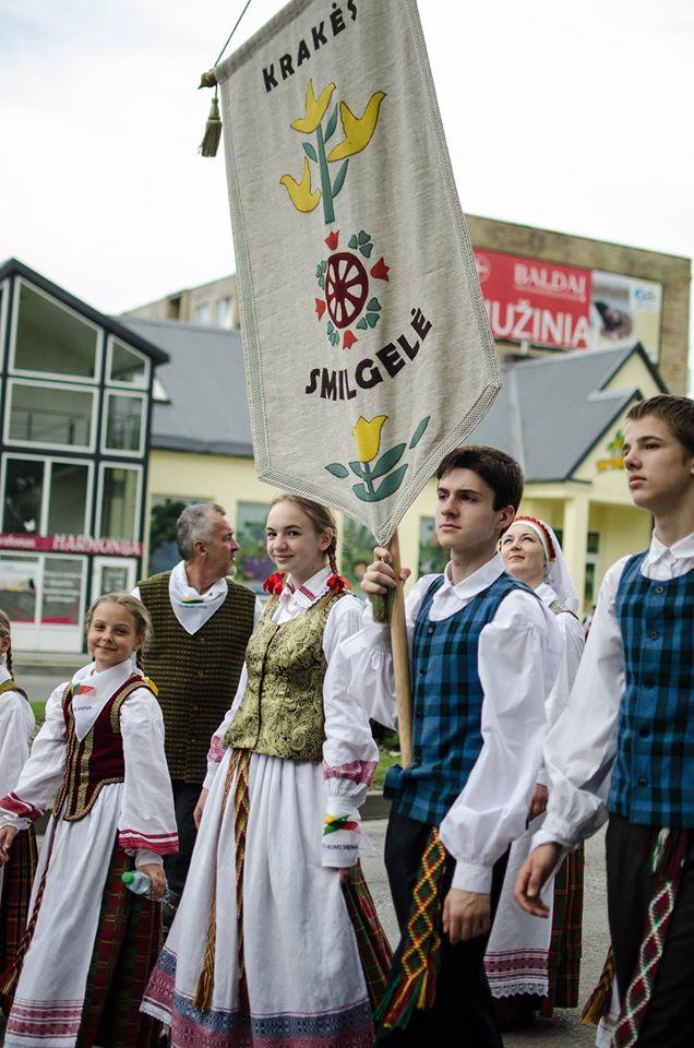 Kėdainių moksleivių dainų šventės metu./ Asmeninio archyvo nuotr.