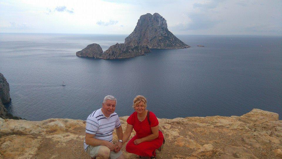 Abi pašnekovės dukros gyvena Ispanijoje. Tad skrisdami jų aplankyti Rita su vyru džiaugiasi ir egzotiškomis atostogomis./ Asmeninio archyvo nuotr.