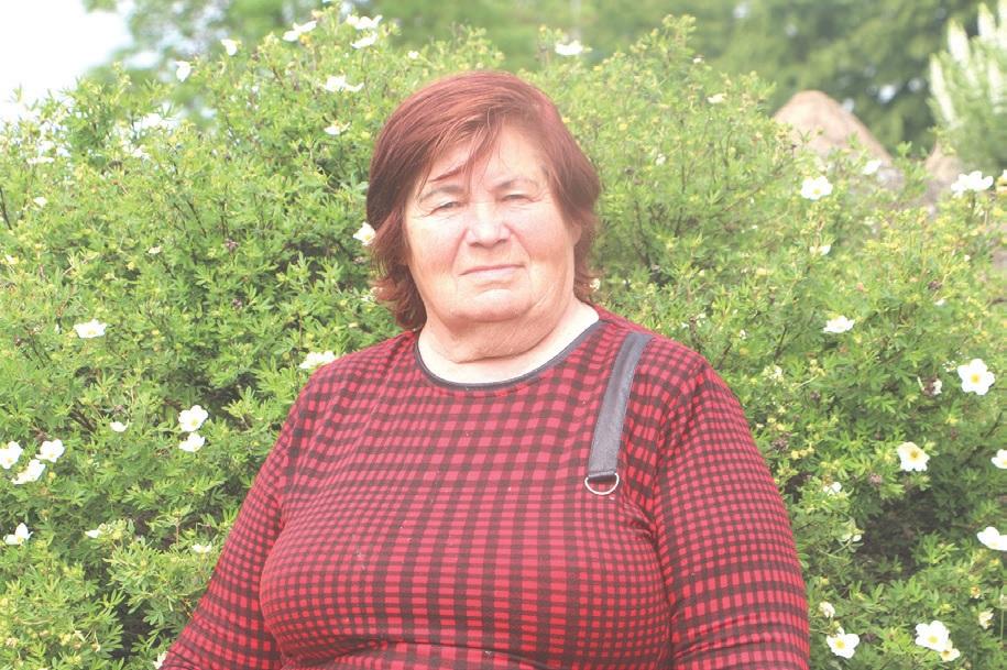 Iš Vikaičių kilusi Alvyna Vyšniauskienė Pelėdnagiuose praleido net 65 metus. /Džestinos Borodinaitės nuotr.