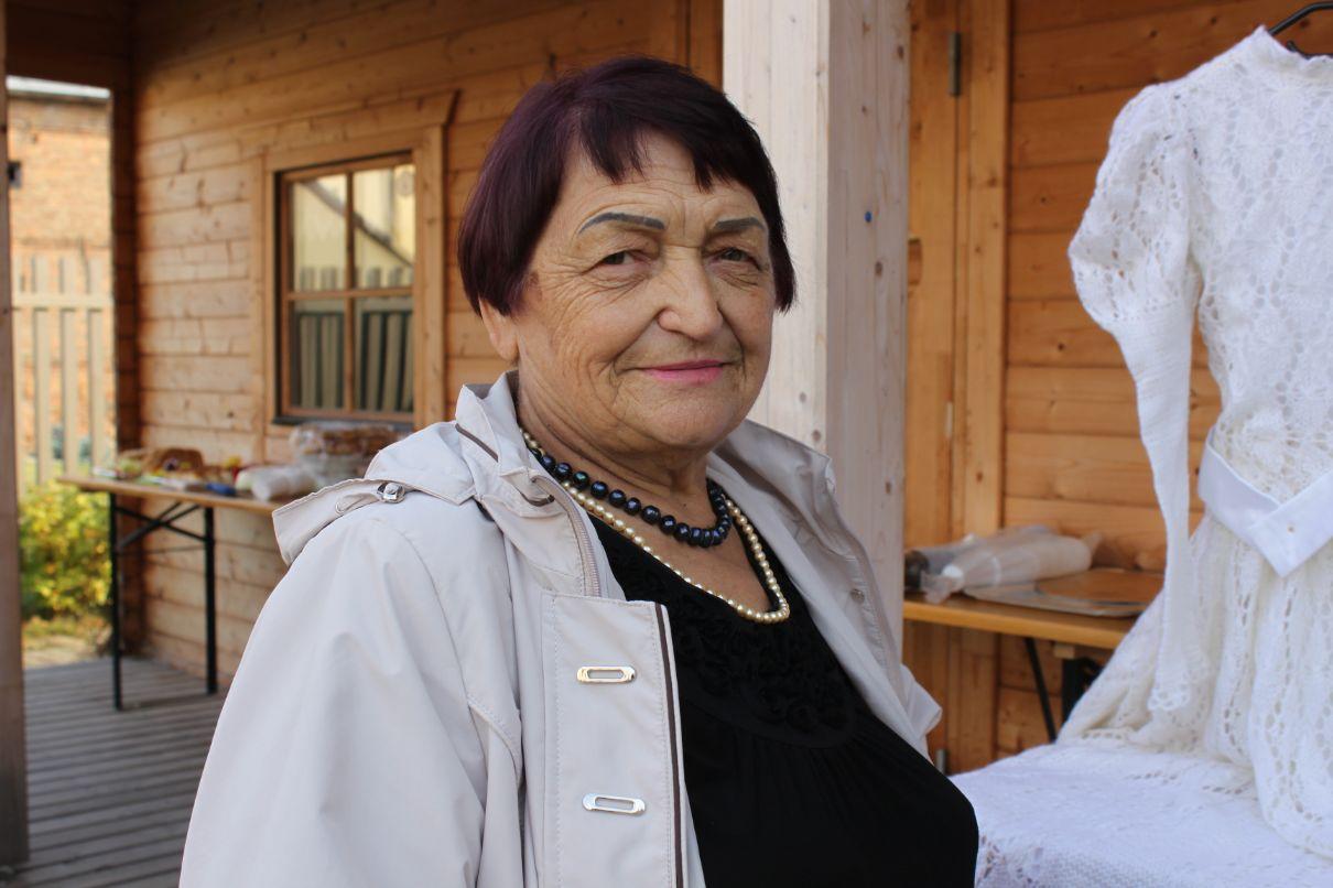 Angelės Zaukienės pomėgis – mezgimas. Į rankas virbalus ji paėmė dar mokyklos laikais ir nepaleidžia lig šiol./Džestinos Borodinaitės nuotr.