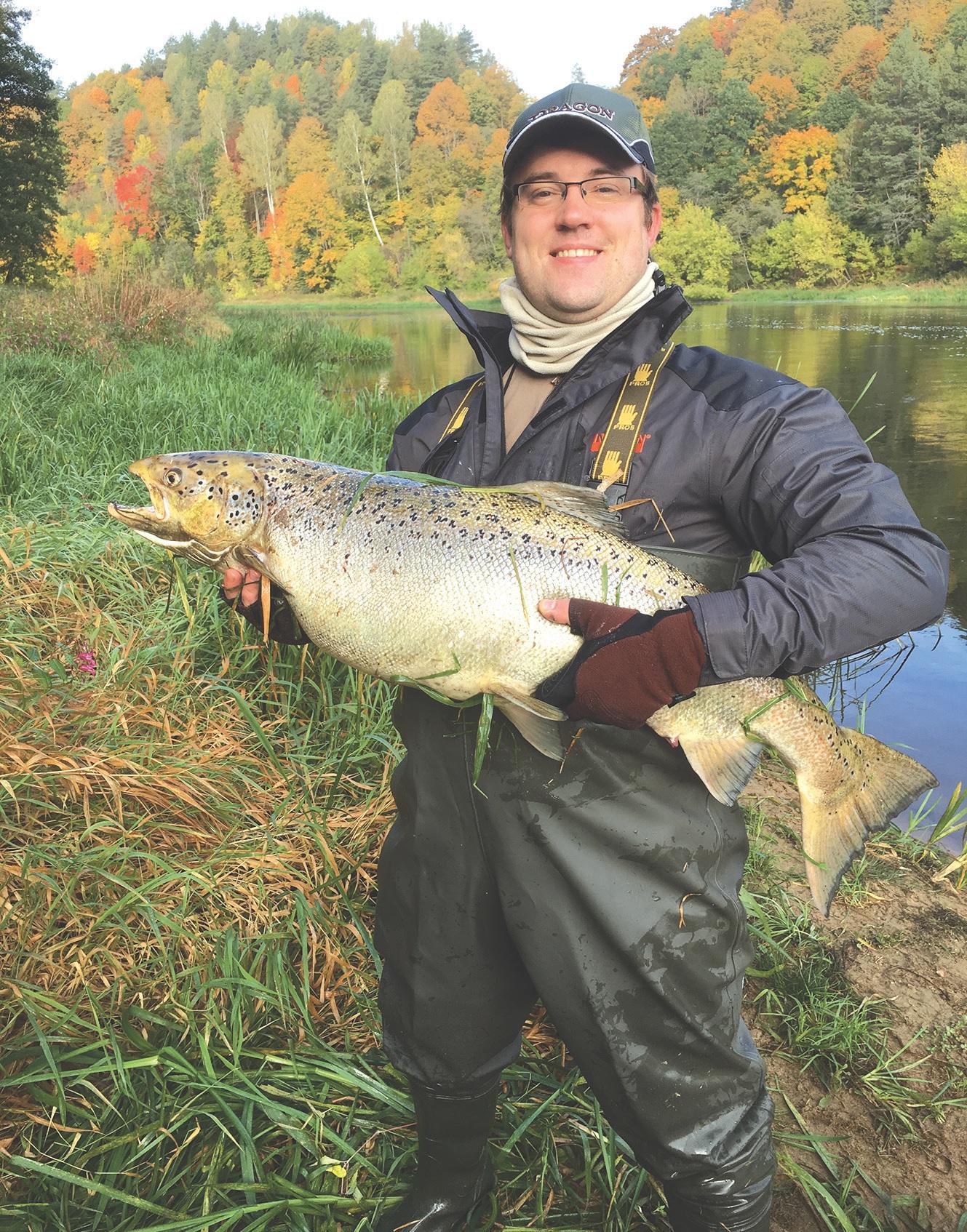 Geriausias atsipalaidavimo būdas aukštas pareigas einančiam vadovui – žvejyba./Asmeninio archyvo nuotr.