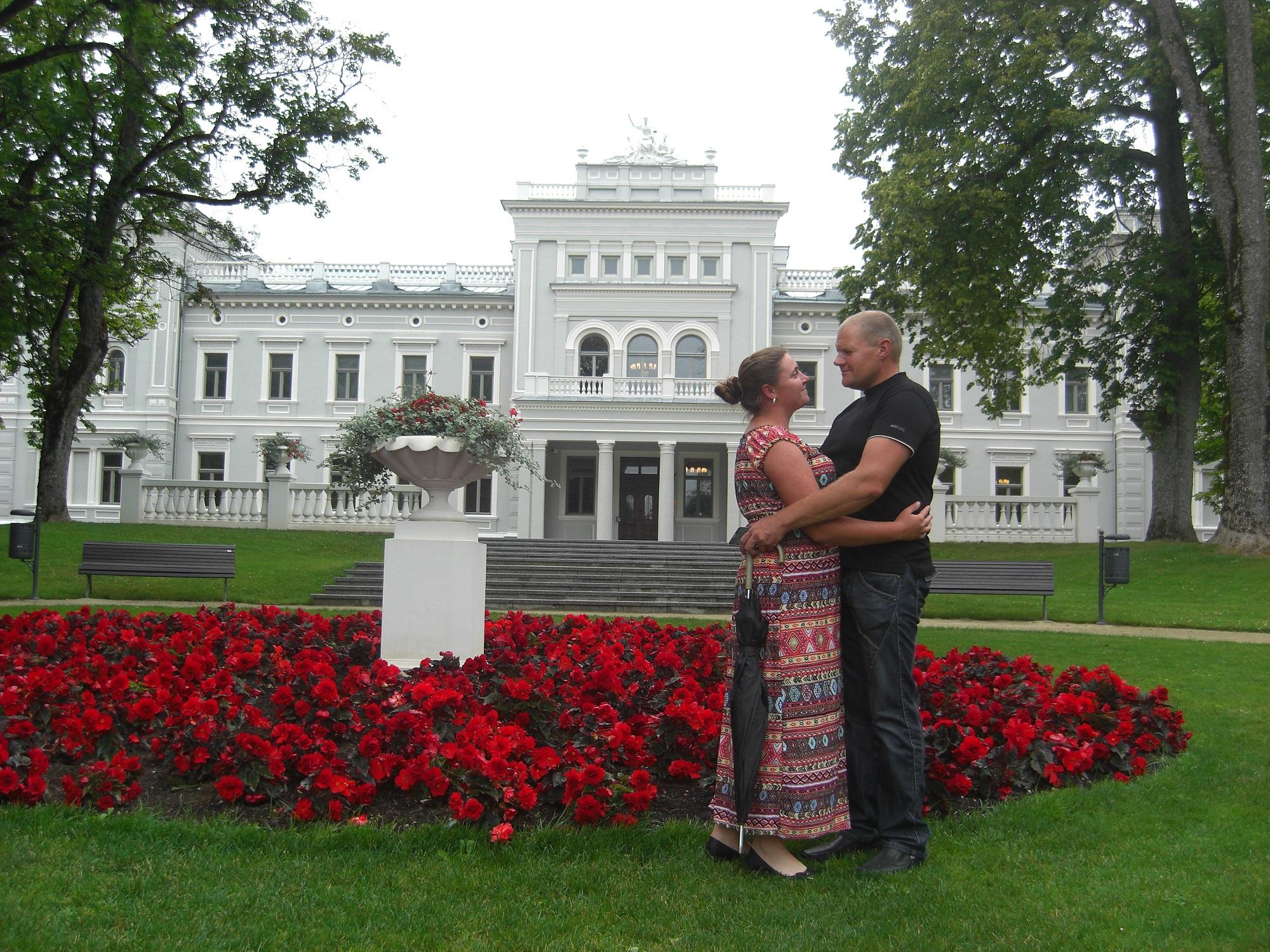 Į Kėdainių kraštą B. Jomantaitė atitekėjo... iš meilės beržukiečiui Sigitui./ Asmeninio archyvo nuotr.