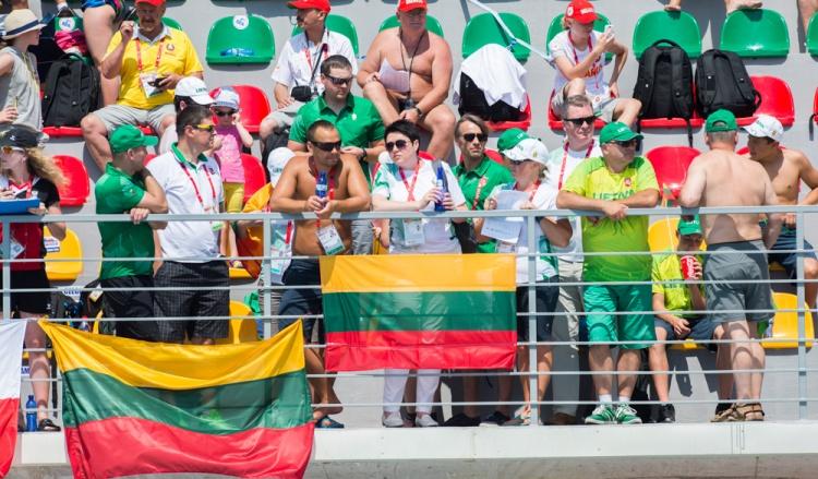 2015 Europos jaunių olimpinis festivalis ir palaikymo komanda. / Asmeninio archyvo nuotr.