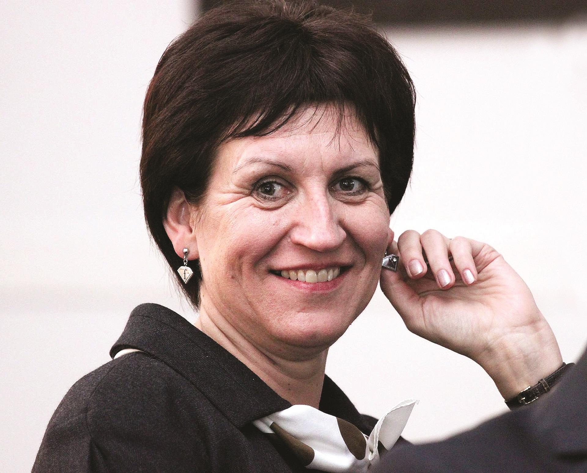 """Ingrida Marijošienė: """"Yra mokėjimų eilė, į kurią visi mokėjimai rikiuojami, ir kai ateis ta eilė, pagal finansines galimybes mes viską apmokėsime.""""/ G. Minelgaitės nuotr."""