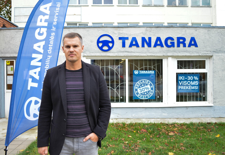 """UAB """"Tanagra"""" pardavimų vadovas Oskaras Pikauskas akcentavo, kad lojaliems klientams įmonė gali pasiūlyti ypač patrauklias kainas, o tai leis jiems užtikrinti konkurencingumą rinkoje."""
