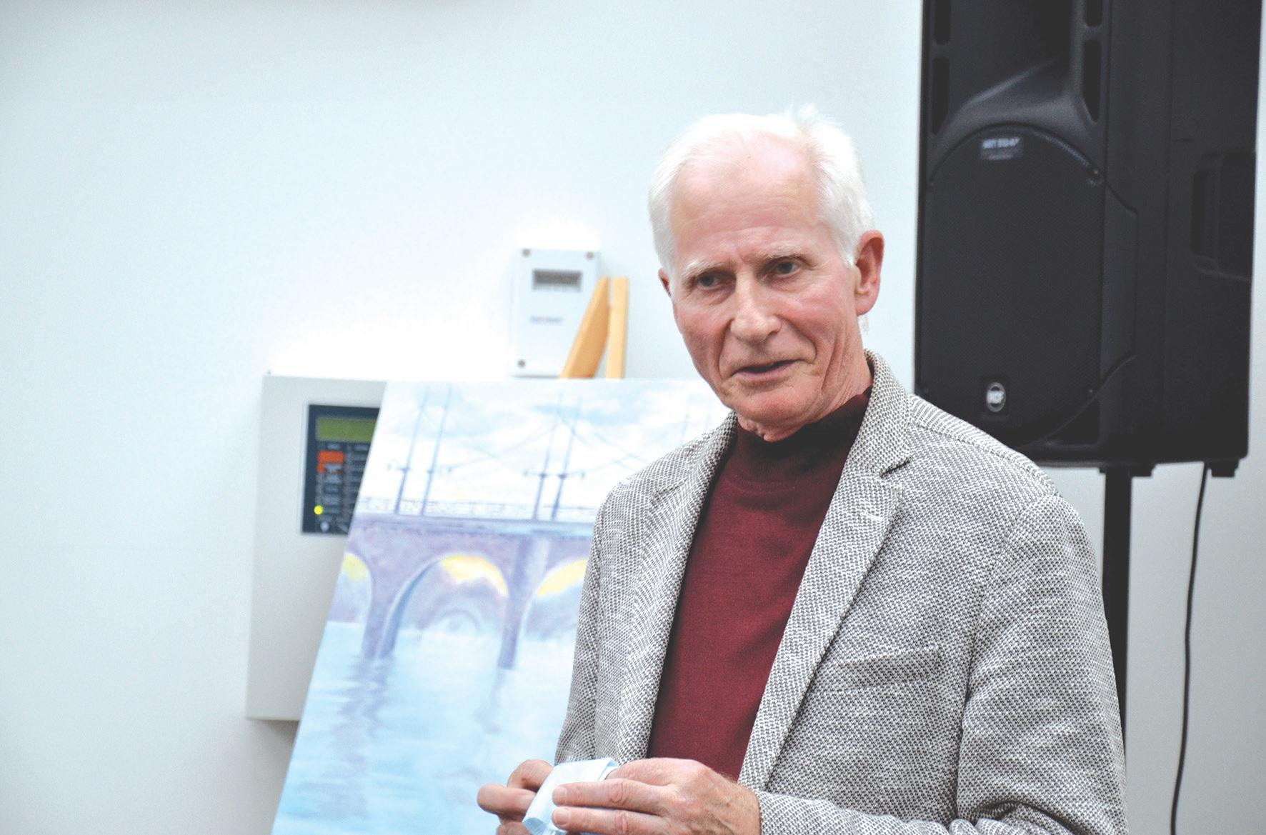 Buvęs ilgametis Muzikos mokyklos direktorius Petras Labeckis.