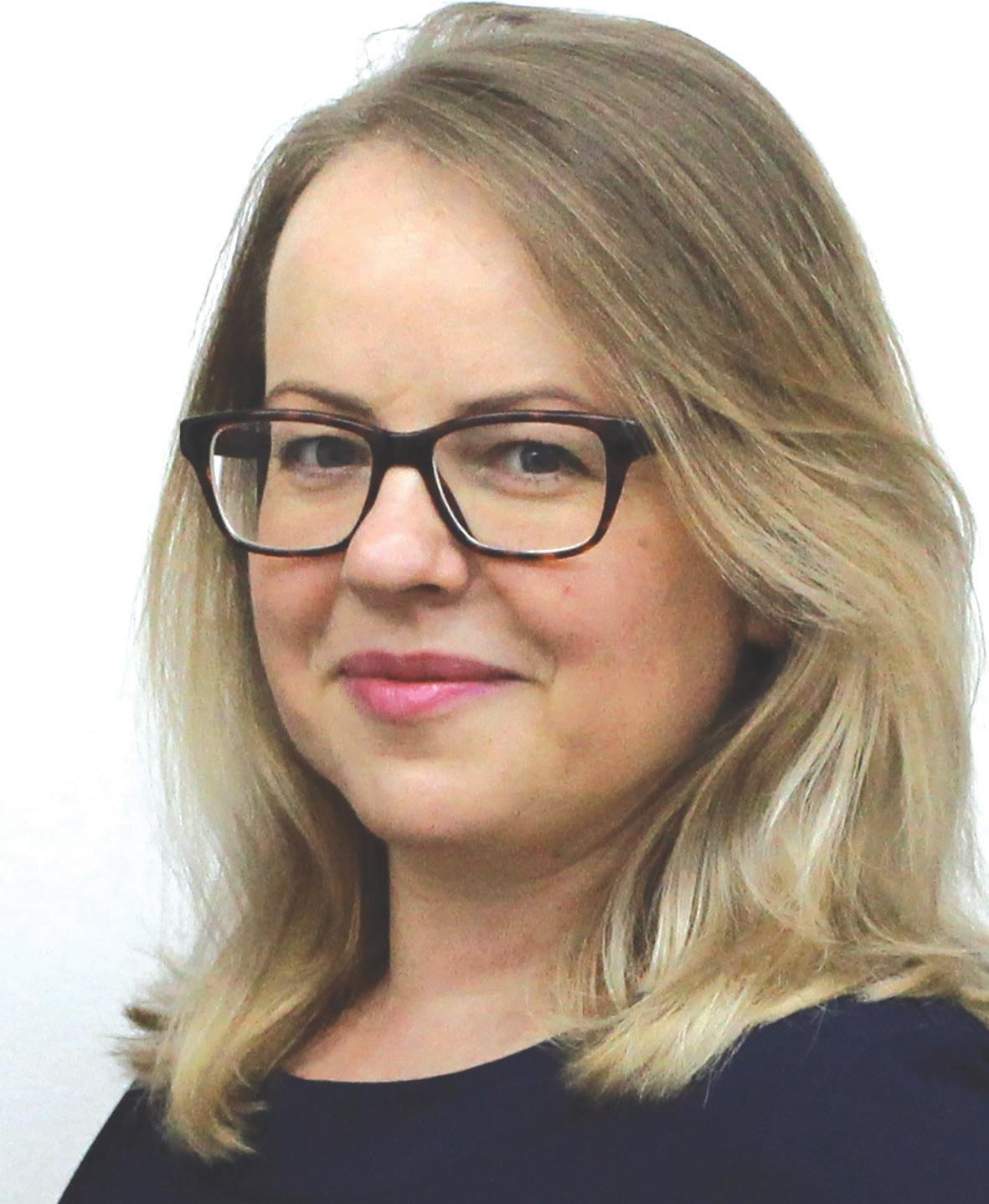 Lietuvos masažuotojų asociacijos vadovė Giedrė Paunksnienė.
