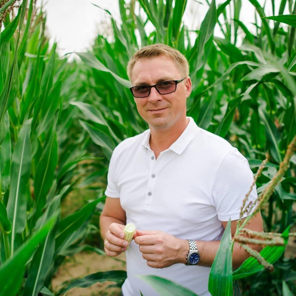 Kėdainių krašto ūkininkas Aurimas Snarskis.