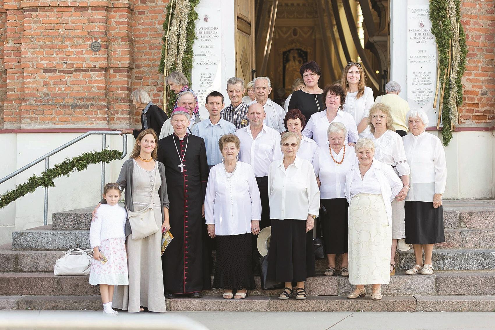 Šiluvoje su arkivyskupu Lionginu Virbalu.