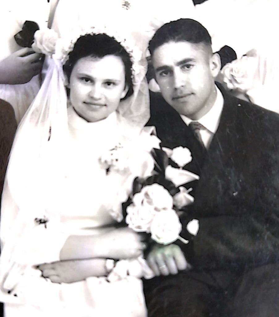 1960 m. gegužės 1-ąją Aldonos ir Petro Vileikių šeima prasidėjo nuo jų dviejų. Asmeninio archyvo nuotr.