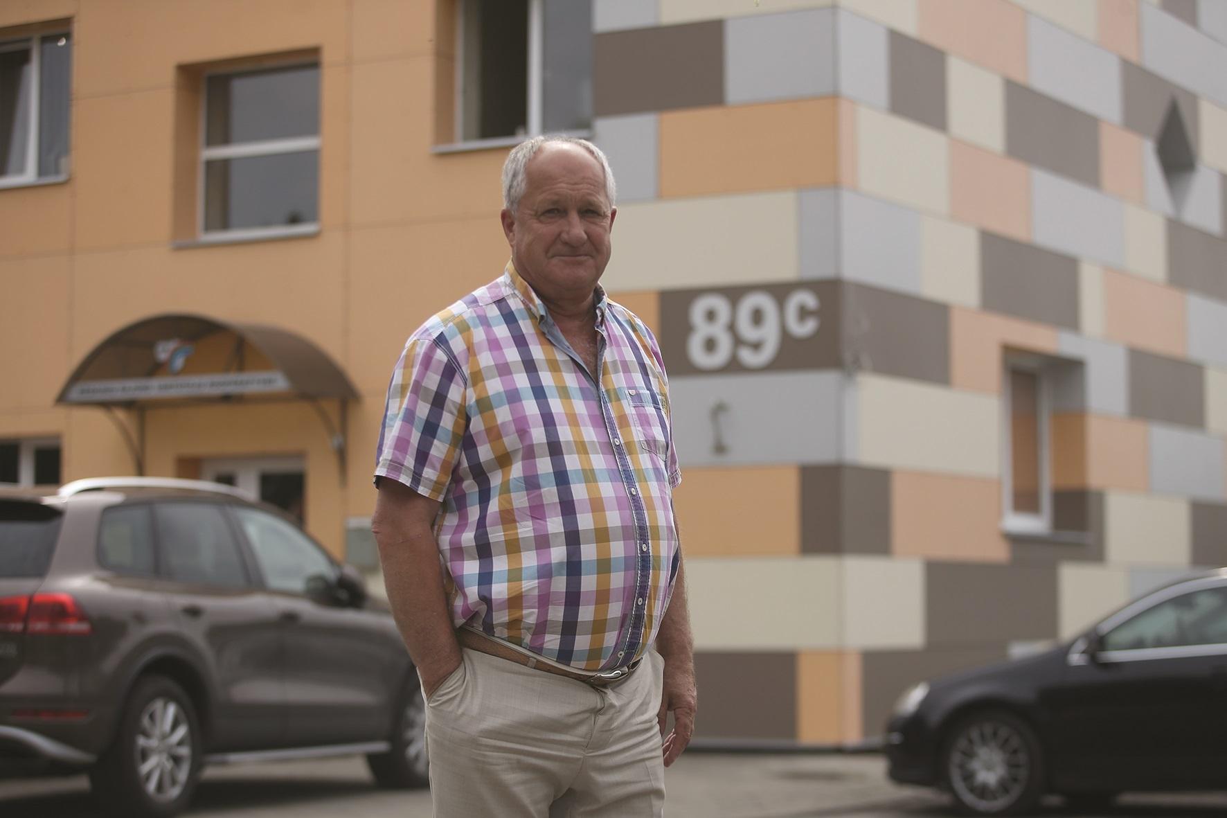 Rimvydas Rasčiauskas, Kėdainių rajono vartotojų kooperatyvo vadovas, džiaugiasi, jog nenaudojamose patalpose kuriasi naujos įmonės./ A. Barzdžiaus nuotr.