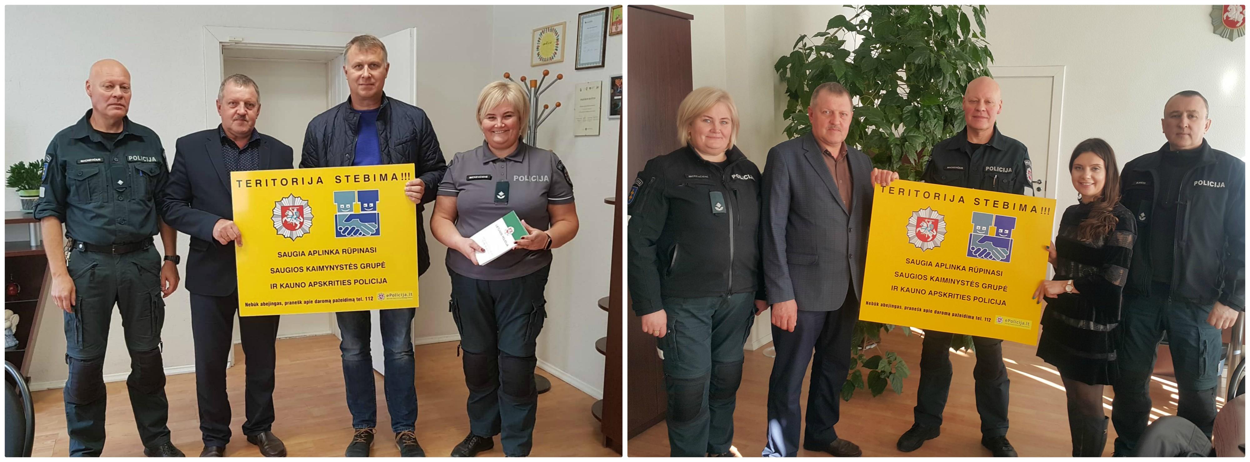 Kauno apskrities vyriausiojo policijos komisariato Kėdainių rajono policijos komisariato bendruomenės pareigūnė Aušra Mickevičienė džiaugiasi, jog šiandien Kėdainių rajone turime 55 saugios kaimynystės grupes.