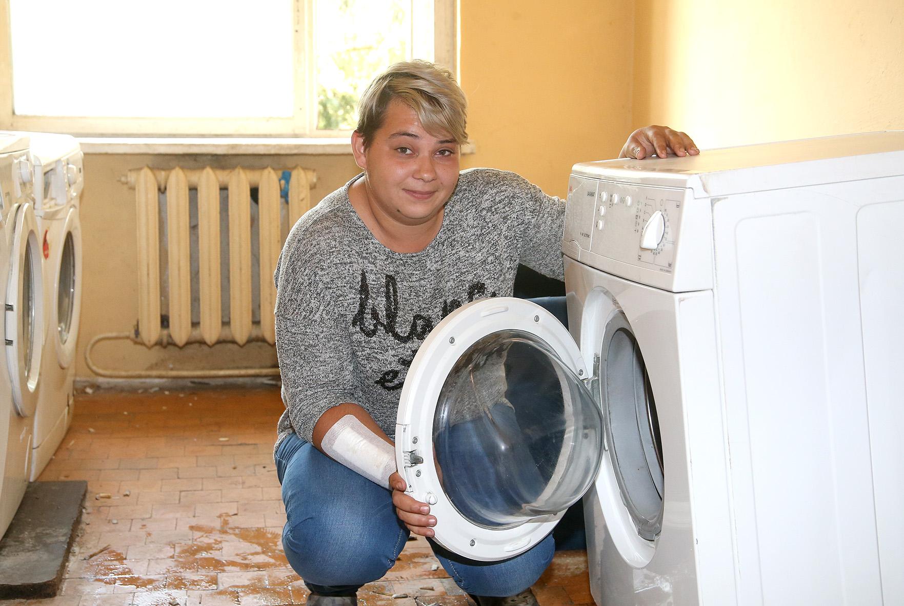 Net penkerius metus kraštietė Marija Aleksandravičiūtė neturėjo nuosavos skalbimo mašinos.