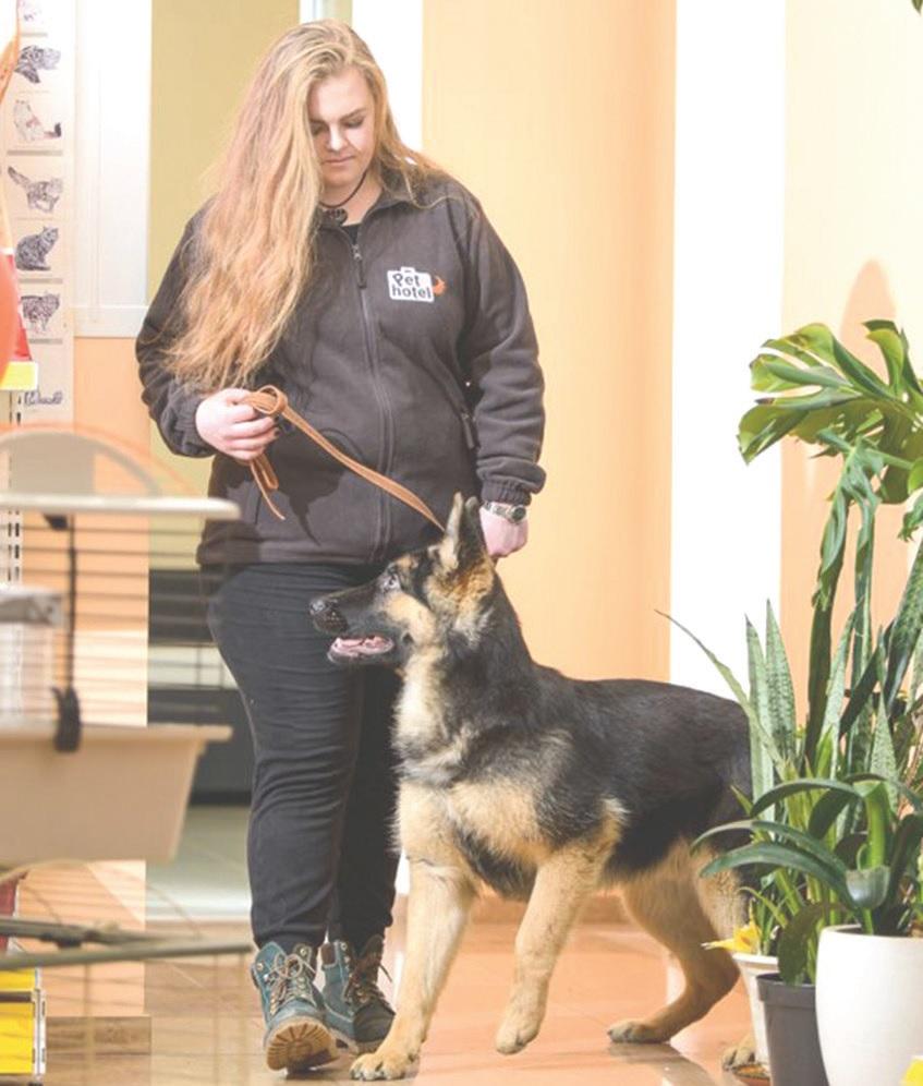 Šunų dresūros instruktorė ir veterinarijos gydytoja Meilė Gustaitytė./Asmeninio archyvo nuotr.