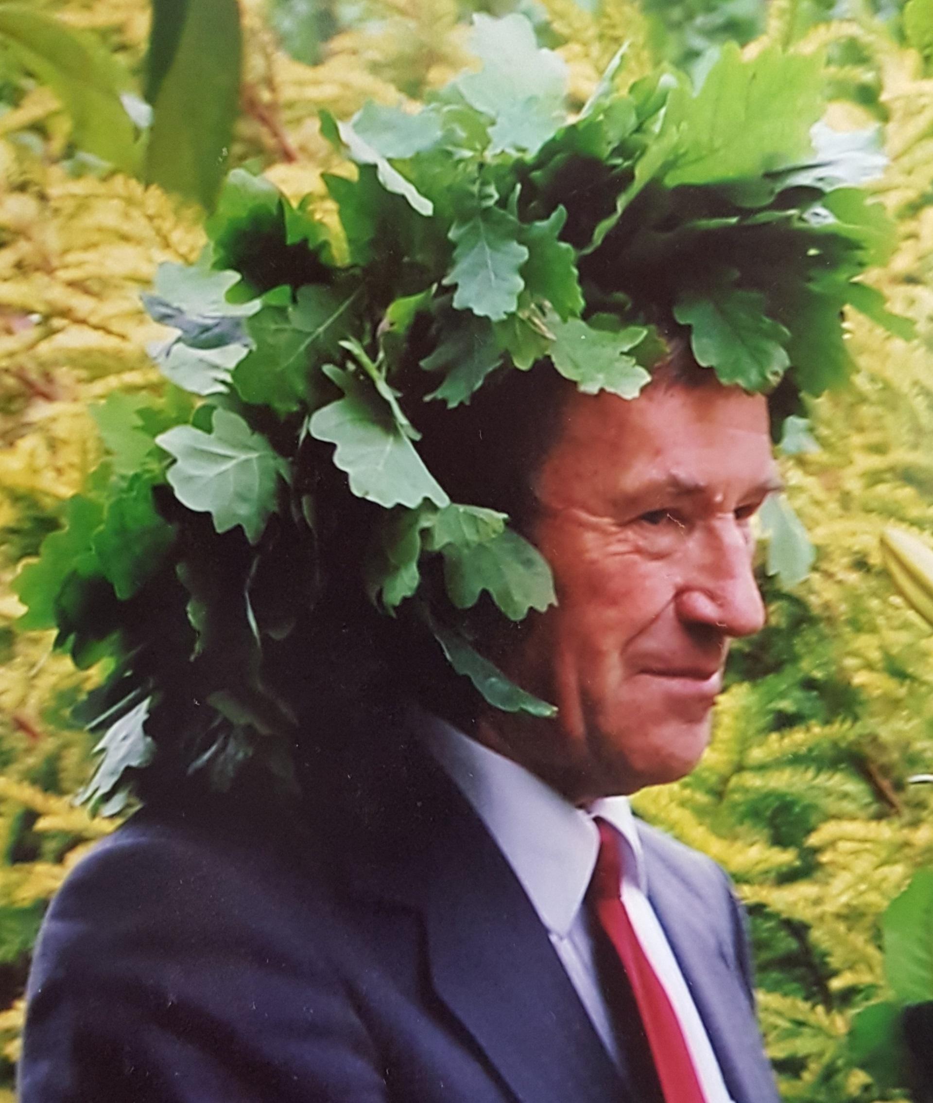 Per Jonines Kėdainių krašto kultūros premijos laureatas Jonas Zenonas Bernadišius švenčia ir vardadienį, ir gimtadienį. Tiesa, dieną prieš tai pašnekovas pamini ir dar vienas – Zenono vardines. Asmeninio archyvo nuotr.
