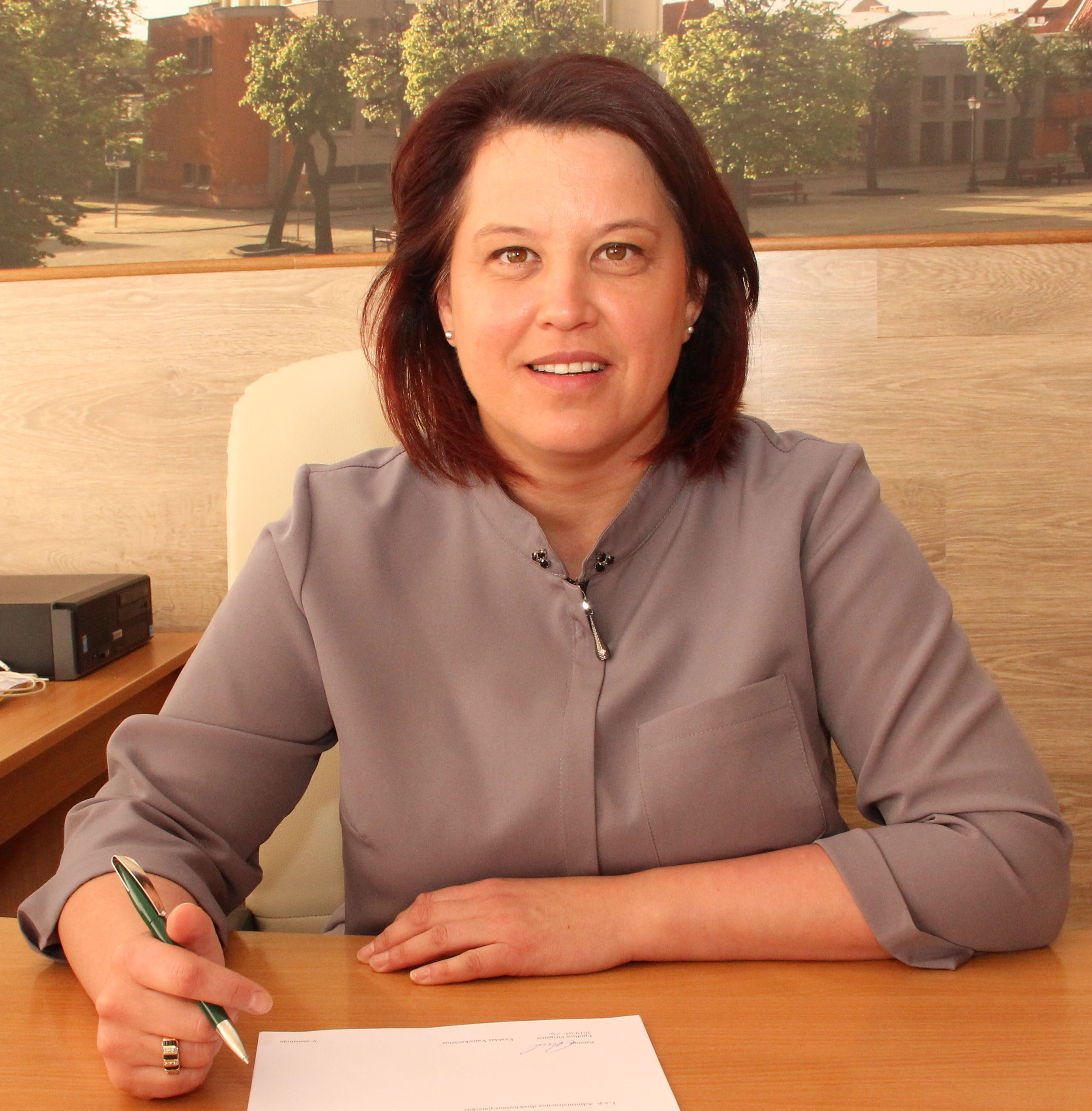 Kristina Kemešienė džiaugiasi, kad savivaldybė sugebėjo įgyvendinti projektus anksčiau nei planuota.