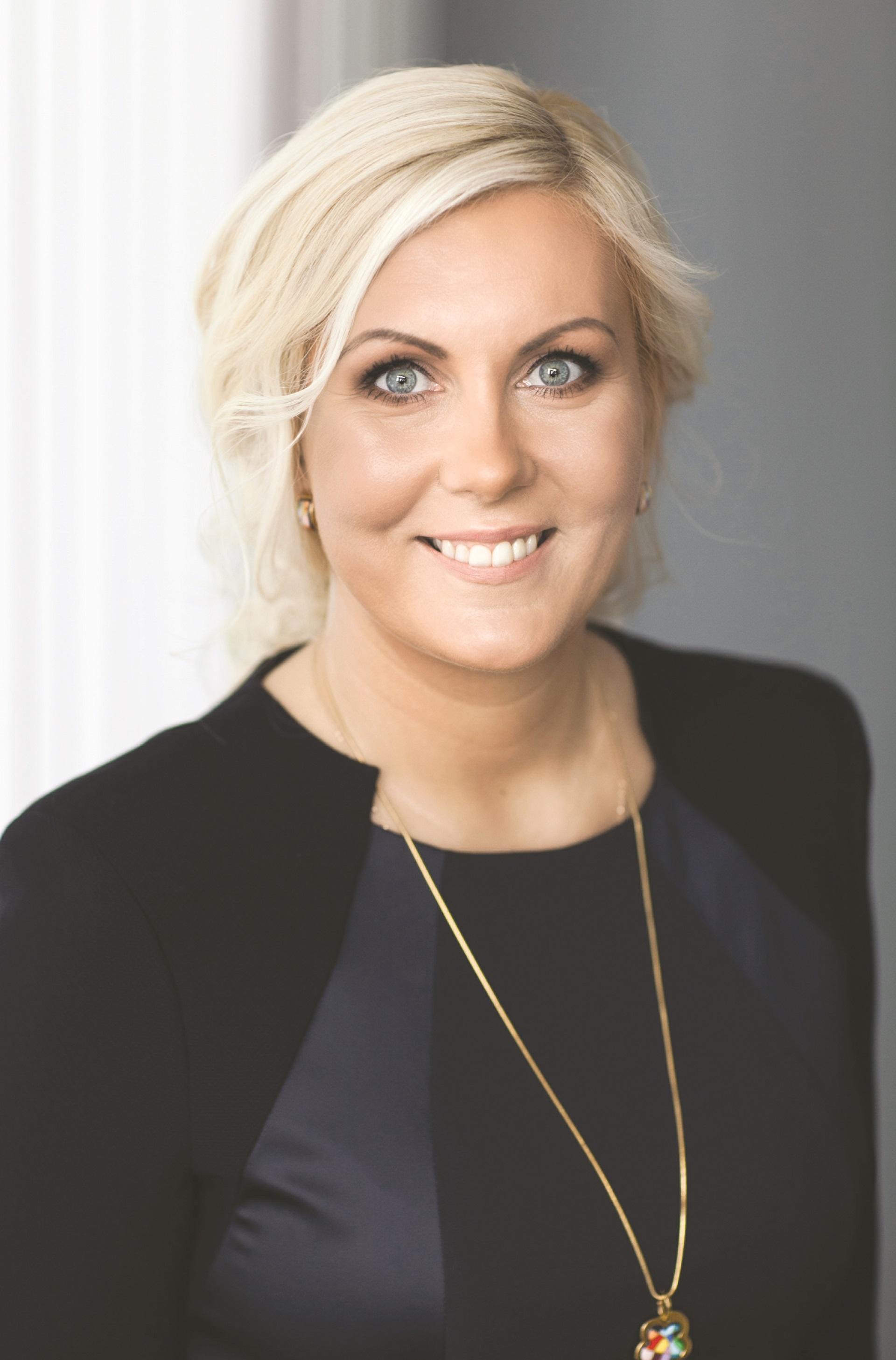 """Bendrovės """"Intrum"""" direktorė Baltijos šalyse Ilva Valeika. Asmeninio archyvo nuotr."""