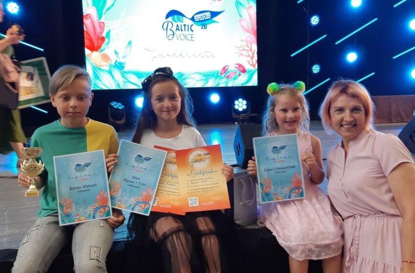 Iš Juodkrantėje vykusio konkurso grįžo su III vieta