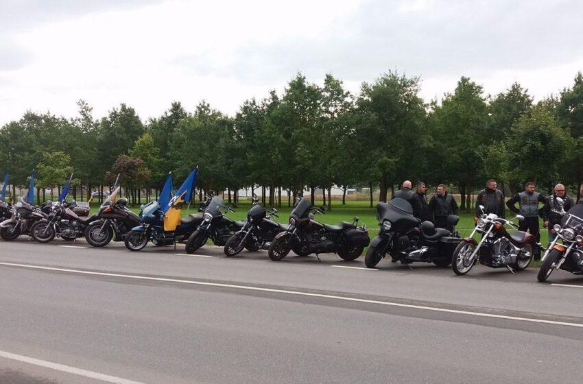 Už meilę Kėdainiams – motociklininkų kolona (FOTO)