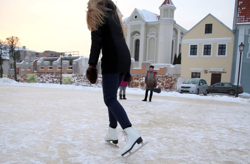 Kėdainiuose gali atsirasti ledo arena
