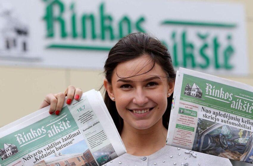 """Skelbiami laikraščio """"Rinkos aikštė"""" konkurso prizų laimėtojai"""