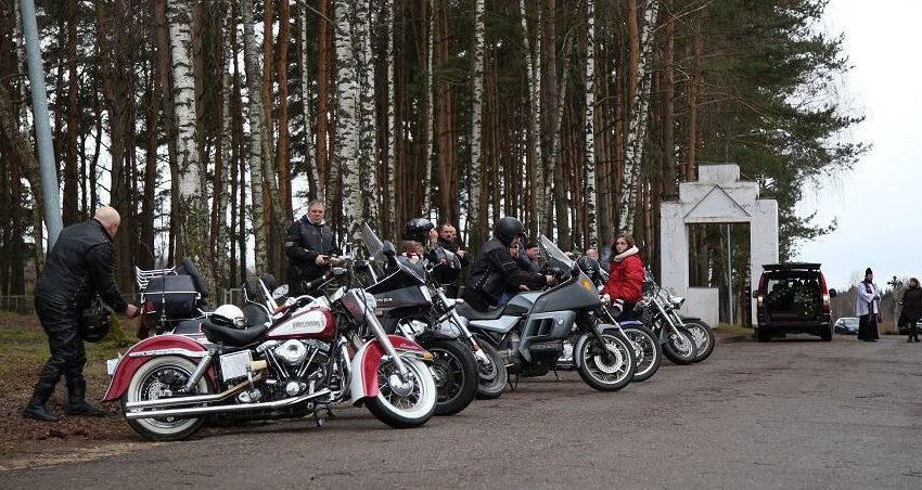 Į paskutinę kelionę palydėtas gaudžiant motociklams