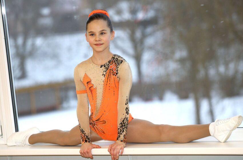 """10-metė gimnastė: """"Suprantu, kad viską darau dėl savęs"""""""