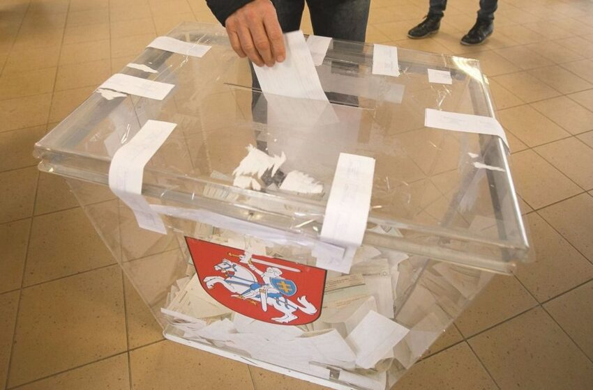 Rinkėjų aktyvumas antrajame rinkimų ture