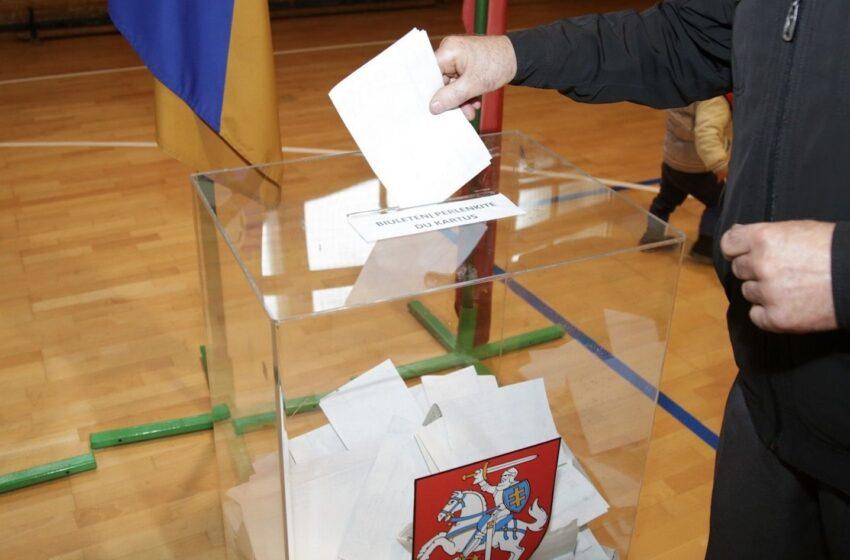 Jau šį sekmadienį – rinkimai į LR Seimą