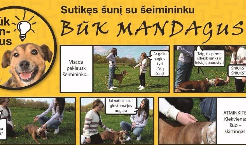 Organizuoja saugaus elgesio su šunimis pamokas