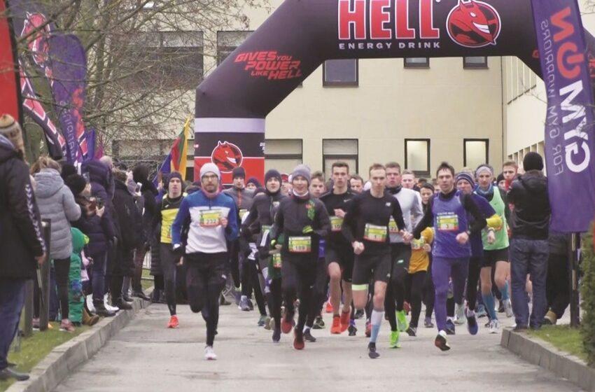Laisvės gynėjams atminti – tradicinis naujametis bėgimas
