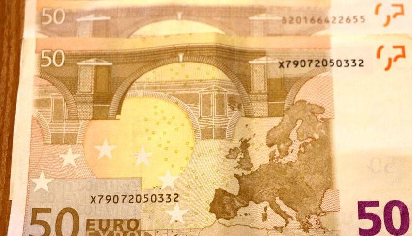 Vėl pasirodė padirbti eurai
