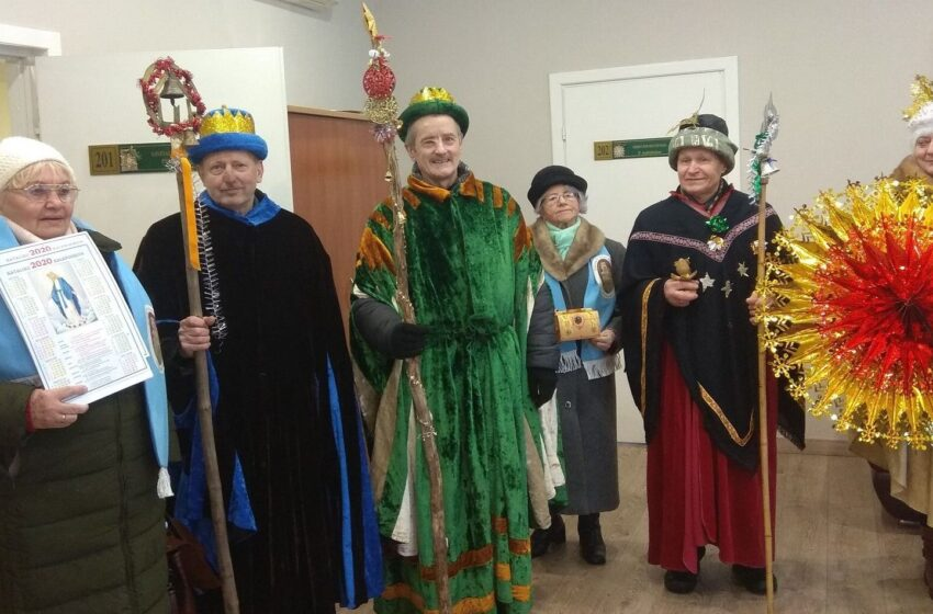 Kėdainiečius lankė Trys Karaliai