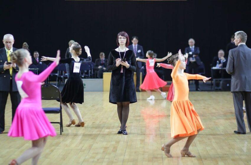 Arenoje – šokių fiesta!