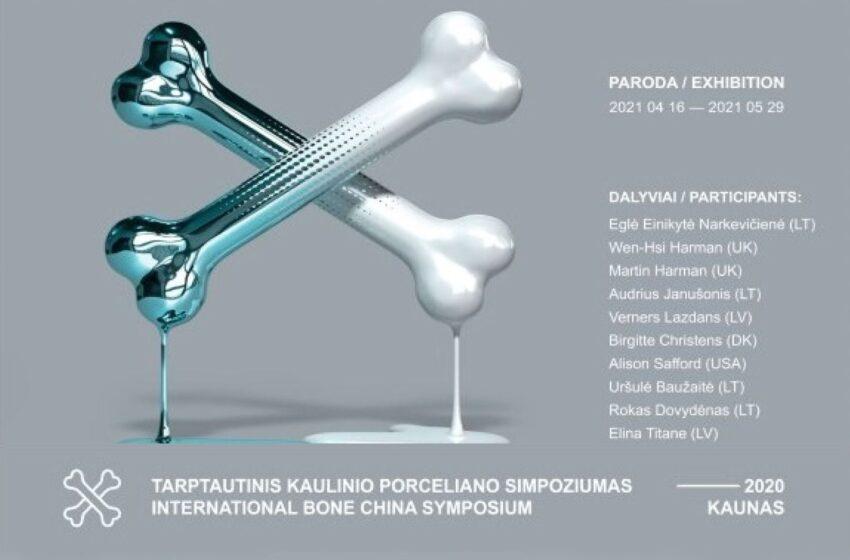 Kviečia į tarptautinio kaulinio porceliano simpoziumo parodą