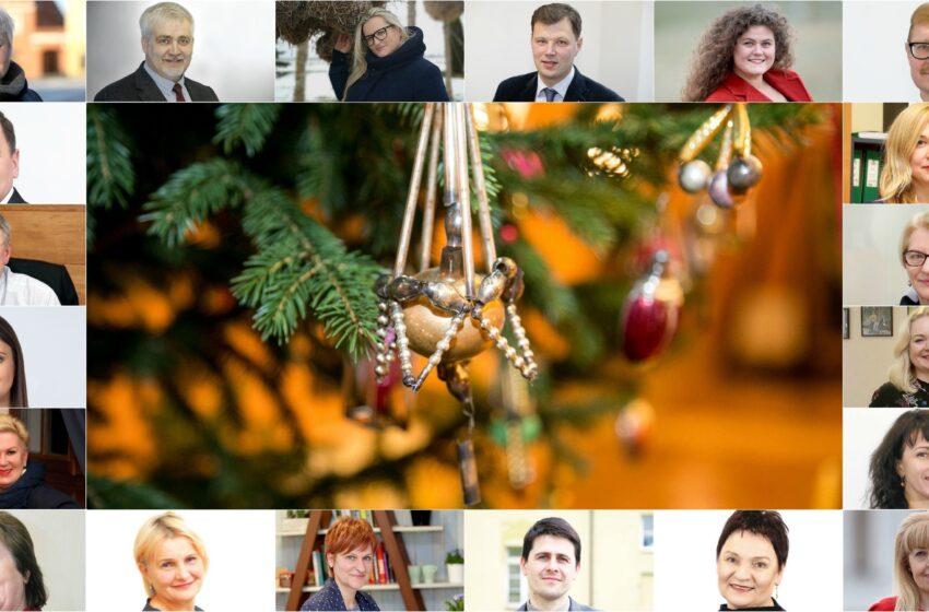 Kalėdiniai kėdainiečių sveikinimai kėdainiečiams!