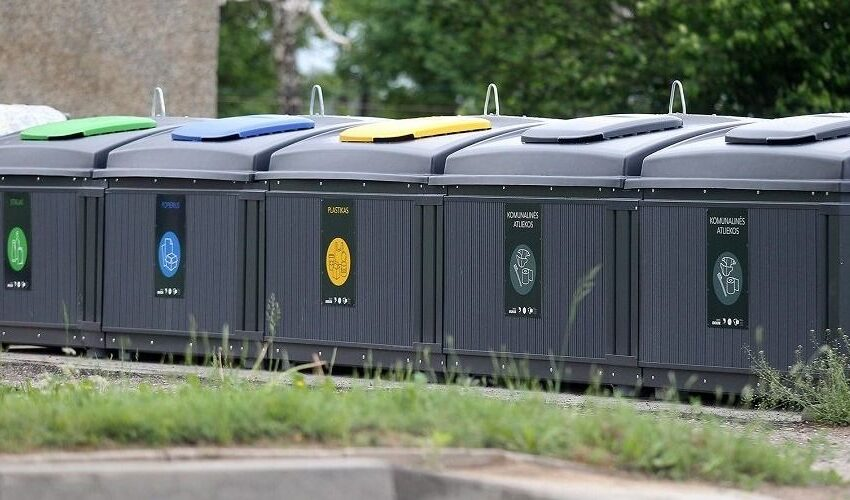 Specifines atliekas mieste surinks pagal grafiką