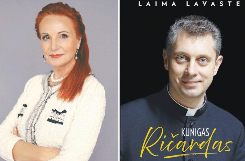 """Laima Lavaste: """"Knyga parašyta ir mano širdimi"""""""