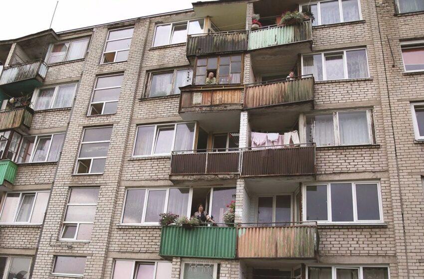 Avarinės būklės balkonai neramina gyventojus
