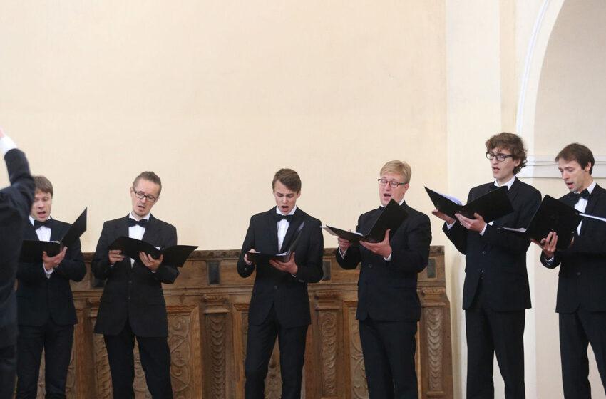 Kėdainiečiams – sakralinės muzikos šedevrai