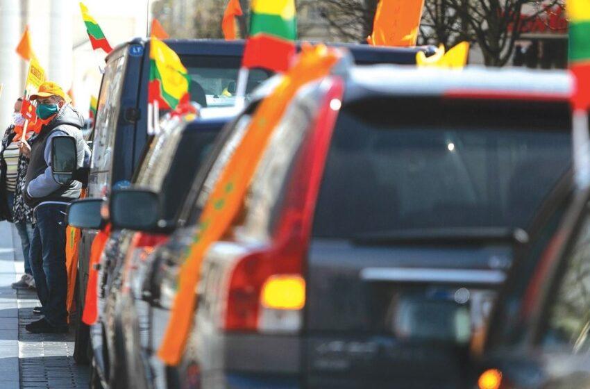 Šeimai apginti organizuojamas maršas per Lietuvą