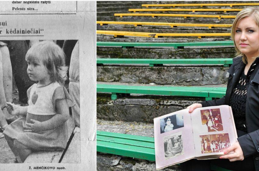 Fotografuotą mergaitę surado po 30 metų