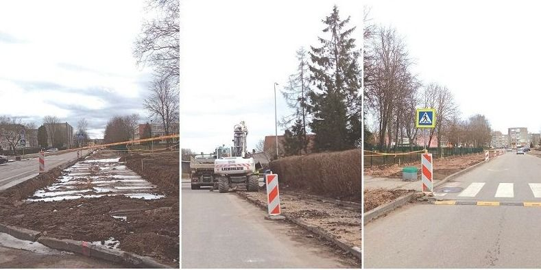 Rekonstrukcija vyksta sklandžiai, bet gyventojai nėra patenkinti