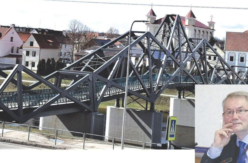 Kėdainių pėsčiųjų tilto per Nevėžį negalima lyginti su Eifelio bokštu