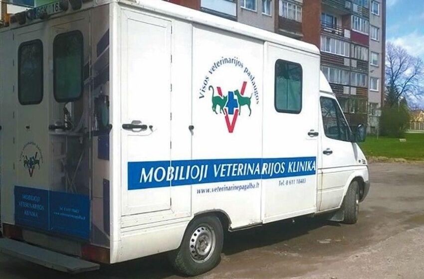 """""""Pifo"""" siekis – mobili veterinarijos klinika"""