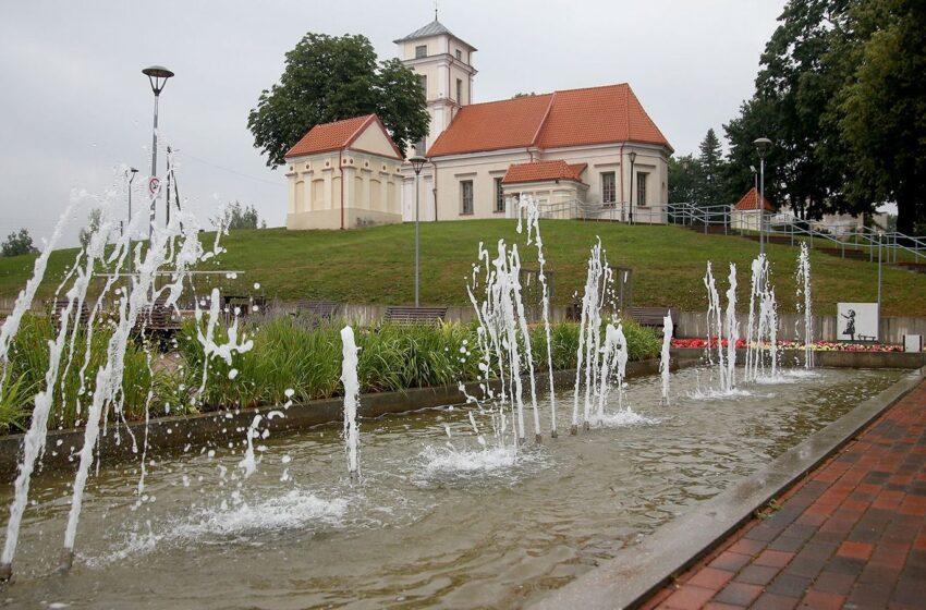 Kiek dar džiaugsimės miesto fontanais?