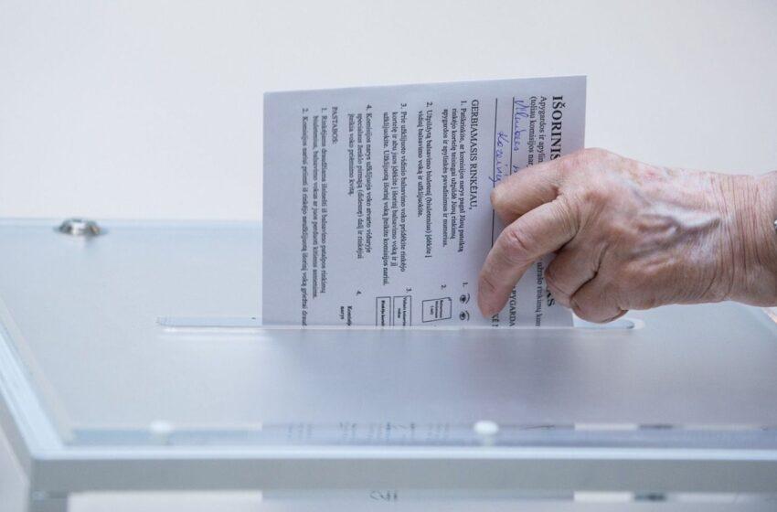 Rinkimuose svarbus kiekvienas balsas