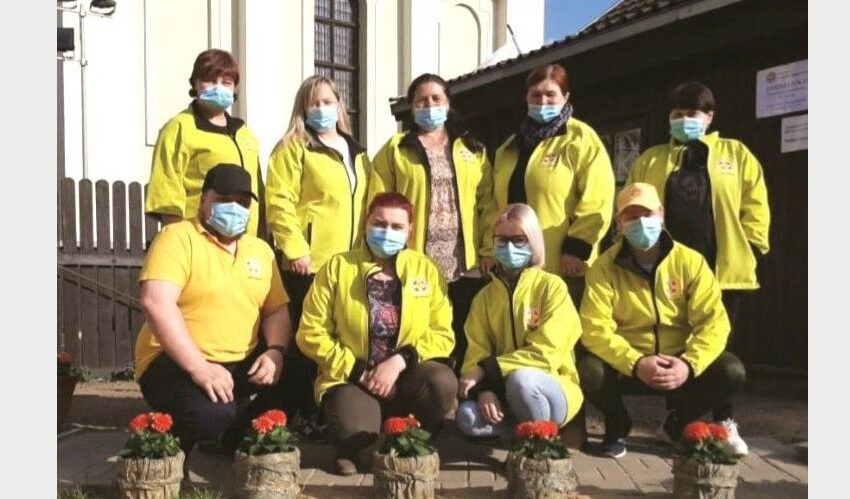 Kėdainių samariečių savanoriai pagalbos ranką ištiesė 500 kartų