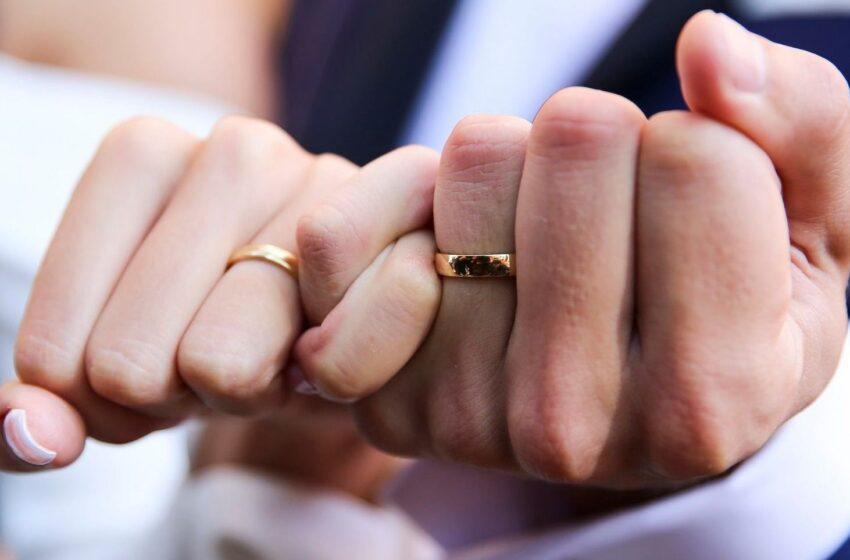 Rajone sumažėjo santuokų ir ištuokų