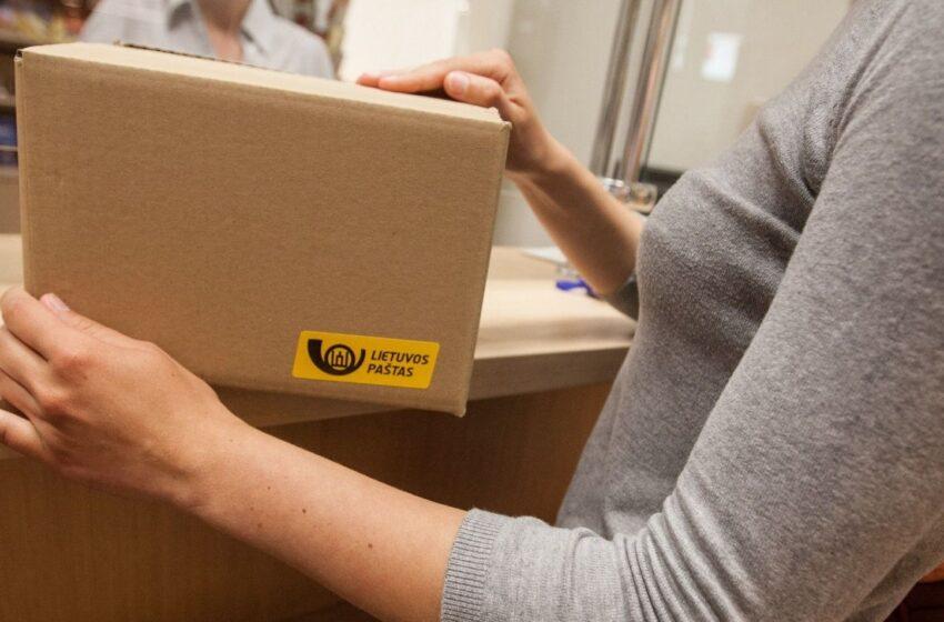 Lietuvos paštas įspėja: beveik trečdalis siuntų iš užsienio atkeliauja su netinkamai nurodytais adresais